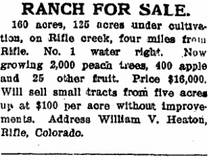 Heaton Ranch for Sale