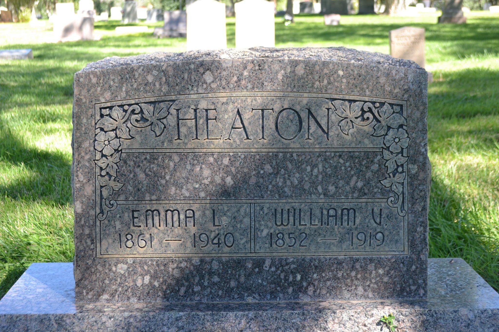 William Vincent Heaton Grave