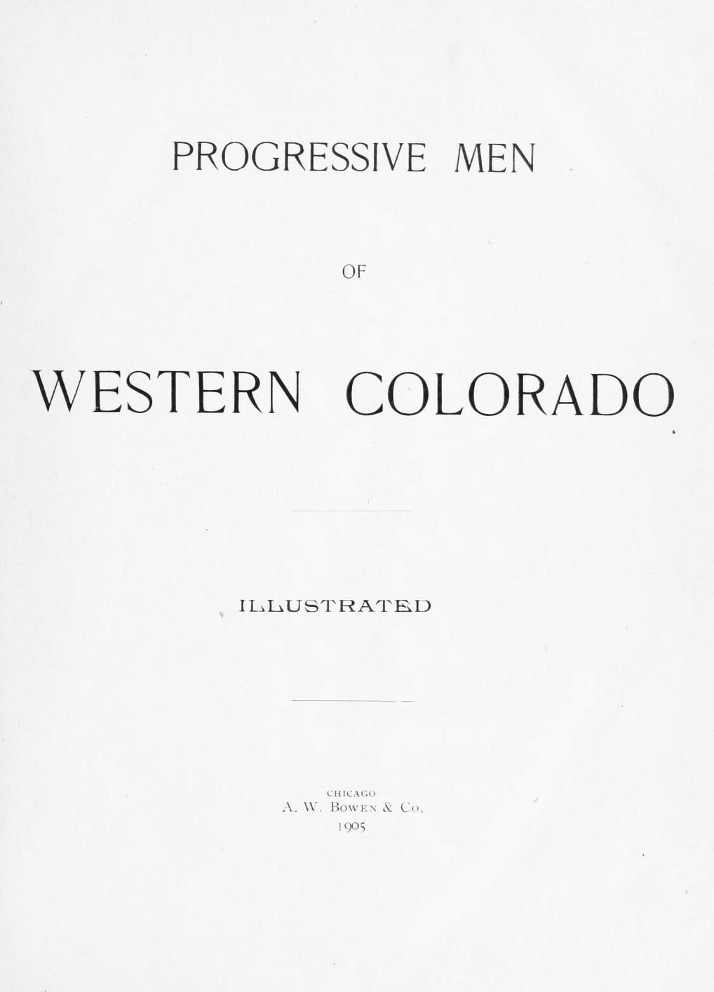 Progressive Men of Western Colorado,